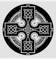 the celtic cross vector image