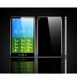 Luxury phone vector image