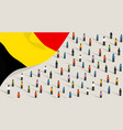 belgian independence anniversary celebration and vector image