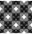 design seamless monochrome grating pattern vector image vector image