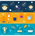 Hygiene Banners Set vector image vector image