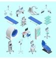 Medical Equipment Isometric Icons Set