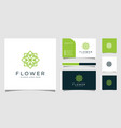 minimalist elegant flower rose luxury beauty vector image vector image