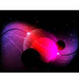 Mysterious cosmic background vector image