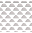 Restaurant cloche pattern seamless vector image vector image