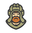 tankman military cartoon vector image
