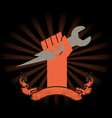Wrench hand vector | Price: 1 Credit (USD $1)