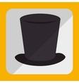 hat colorful icon design vector image