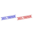 2021 trends watermarks with grunged surface and vector image vector image