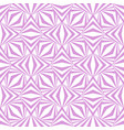 art abstract geometric light white pink pattern vector image vector image