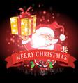 christmas decor and symbols vector image vector image