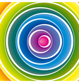 colorful circles background vector image vector image