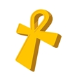 Egyptian Ankh icon cartoon style vector image vector image