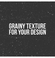 grain Texture like a Snow Dust or Sand vector image