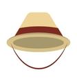 hat cap tourist icon vector image