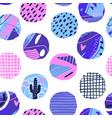 polka dot seamless pattern abstract textured vector image vector image