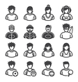 Sport and Activity People Icons vector image vector image