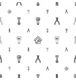 wrench icons pattern seamless white background vector image vector image