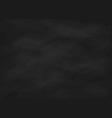 Empty chalk board vector image