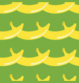 banana geometric seamless pattern in 80s 90s style vector image