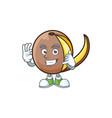 call me bambangan fruit with concept cartoon vector image vector image