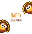 Card for Thanksgiving Day vector image