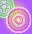 Circle Light purple background vector image vector image