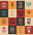 collection quote typographical background vector image vector image