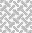 Shades of gray double T shapes with offset vector image vector image