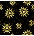 black geometric seamless texture vector image vector image
