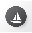 boat icon symbol premium quality isolated ship vector image vector image