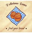 Bread On A Napkin 22 vector image