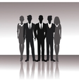 business people teamwork successful vector image