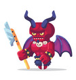 fantasy rpg game game character monsters and heros vector image vector image