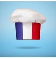 French national cuisine vector image vector image