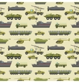 Military trucks pattern vector image