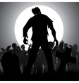 zombies vector image vector image