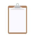 blank clipboard vector image