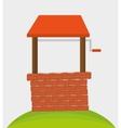 Brick wall design vector image vector image
