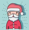 christmas celebration with decoration design vector image