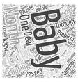 Colic relief Word Cloud Concept vector image vector image