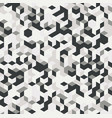 irregular black and white abstract vector image