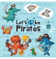 let is be pirates pirate vector image