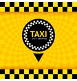 Taxi symbol new background 10eps vector image vector image