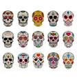 15 day dead sugar skull designs