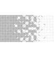 grey halftone arabesque border arabesque
