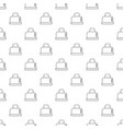 steal toaster pattern seamless vector image