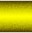 Abstract Yellow Technology Background vector image