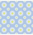 Abstract summer camomile seamless pattern vector image vector image