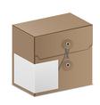 Carton box vector image vector image